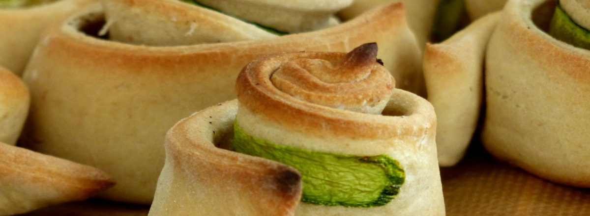 Sana e Salva Zucchiniröllchen