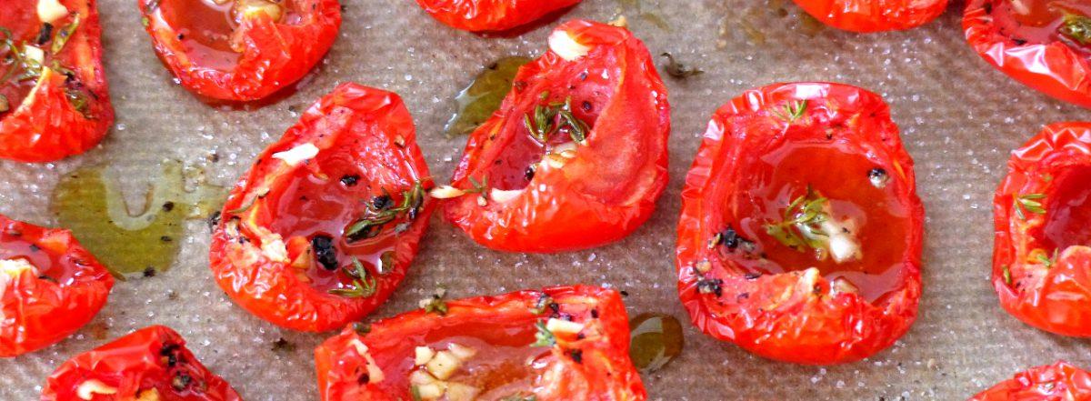 getrocknete Tomaten selbst zubereitet Sana e Salva