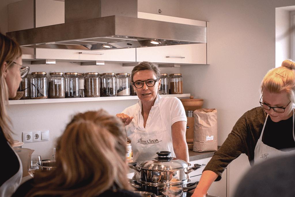 Marika Bange Kochkurse für Firmen und Privatpersonen